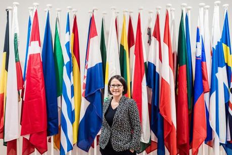 La proposition de budget 2021-2027 prévoit, selon Yuriko Backes, «de nouveaux instruments dont l'appui aux réformes prioritaires pour soutenir les États membres qui souhaitent rejoindre l'euro». (Photo: Mike Zenari)