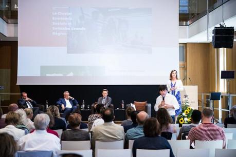 Le cluster a été lancé à l'occasion de la journée d'échange «D'Zukunft vun der Sozial- a Solidarwirtschaft zu Lëtzebuerg», qui s'est tenue à Echternach le 26 juin dernier. (Photo: Alexander Anyfandakis)