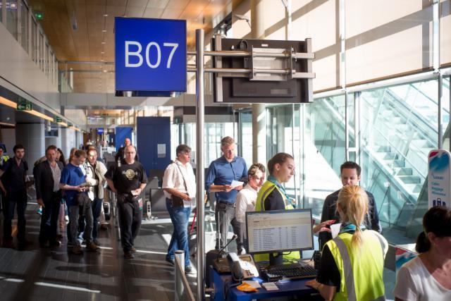 Le renforcement des contrôles des cartes d'embarquement voulu par le gouvernement amène à une réorganisation du fonctionnement des services de sécurité du Findel, ce que déplore l'OGBL. (Photo: Christophe Olinger/archives)