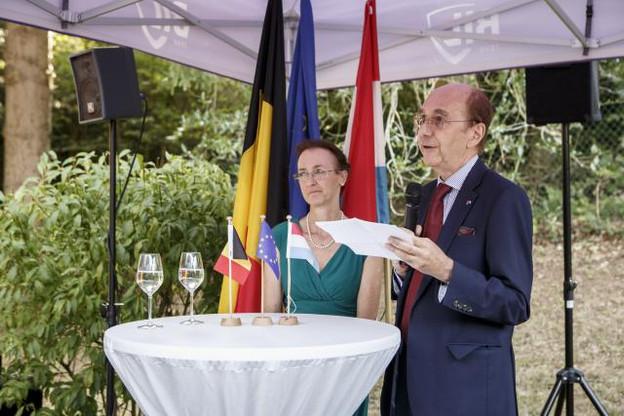 Jean-Louis Six entrevoit de nouvelles collaborations entre la Belgique et le Luxembourg dans le secteur spatial. (Photo: Jan Hanrion / Maison Moderne)