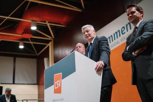 Claude Wiseler a présenté ses vœux, appelant notamment à «une autre politique». (Photo: Marion Dessard)