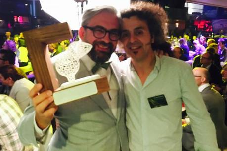Mike Koedinger et Donato Rotunno, fondateurs de Maison Moderne et de Tarantula, une amitié et une réussite commune récompensée. (Photo: DR)