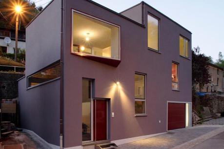 Parmi les nombreux exemples d'architecture contemporaine au Luxembourg, cette maison particulière à Luxembourg par Besch da Costa Architectes. (Photo: Besch da Costa Architectes)