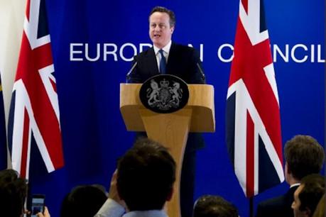 David Cameron est attendu de pied ferme par ses futurs ex-partenaires européens qu'il retrouve mardi à Bruxelles. (Photo: Conseil européen)