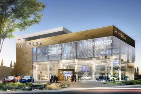 «Le show-room réservé à Hyundai sera le plus grand d'Europe en termes de surface», assure Marc Graas, le CEO d'Autodis. (Photo: DR)