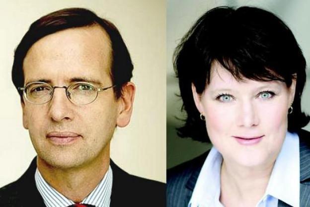 Guillaume de Posch et Anke Schäferkordt, les nouveaux CEO de RTL Group (Photo : RTL)