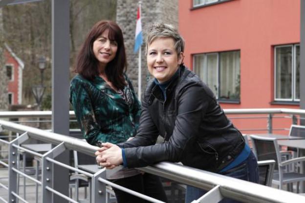 Véronique Bouronikou et Virginie Scuvée, People Primetime (Photo : Olivier Minaire)