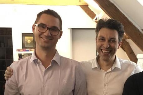 Les fondateurs de Mythic Games, Benoît Vogt (à gauche) et Léonidas Vesperini (à droite). (Photo: DR)