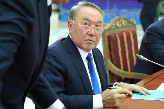 Le président du Kazakhstan, Noursoultan Nazarbaïev, acteur-clé du kazakhgate. (Photo: Licence C. C.)