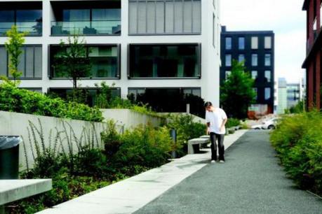 Un appartement sur Luxembourg est à plus de 5.700 euros/m2 sur Cents, Belair, le Limpertsberg, ou le Kirchberg.  (Photo : Fonds Kirchberg)