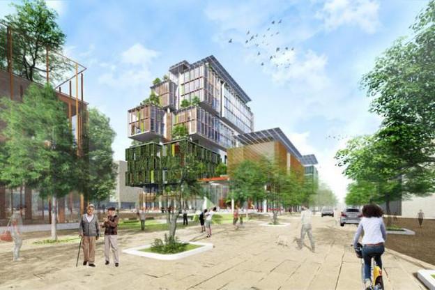 Ce nouveau projet mixte va inclure hôtel, commerces, ateliers et logements. (Illustration: Temperaturas Extremas Arquitectos)
