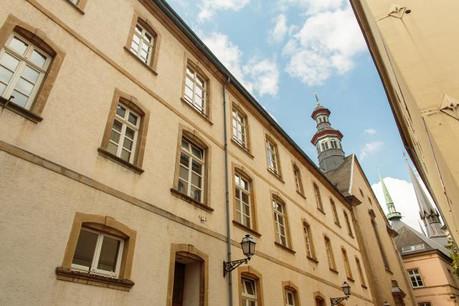 Étudiants du Lycée des arts et métiers et entrepreneurs seront réunis dans le bâtiment de l'école fondamentale Centre, rue de la Congrégation. (Photo: Matic Zorman)