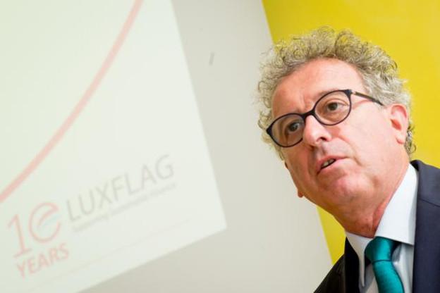 Pierre Gramegna était présent pour le lancement du label, qu'il soutient. (Photo: Christophe Olinger)