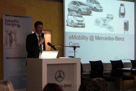 Michael Schiebe a notamment travaillé sur l'e-mobilité au sein de Daimler. (Photo: Zukunftenergie)