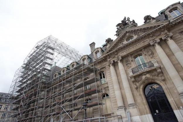 C'est le bureau d'architecture et de design Jim Clemes qui coordonne cet important chantier. (Photo: Christophe Olinger)
