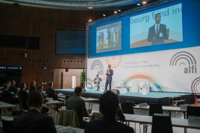 La dernière Global Conference organisée par l'Alfi en septembre dernier avait permis de mesurer le dynamisme du secteur. (Photo: Marion Dessard / archives)