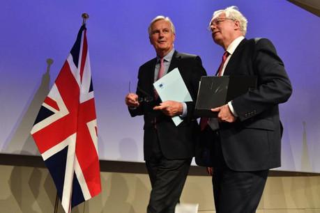 Contrairement aux rounds de négociations précédents, aucune rencontre publique entre Michel Barnier et David Davis n'est prévue au cours de ces échanges, les derniers avant le sommet européen des 19 et 20 octobre prochains. (Photo: Commission Européenne)
