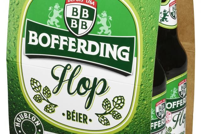 La nouvelle bière de Bofferding est réalisée avec un houblon américain. (Photo: Brasserie nationale)