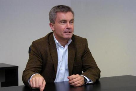 Mark Rigolle (Allinbox): «Nous nourrissons l'ambition de créer une plate-forme indépendante paneuropéenne.» (Photo : Frédéric Humblet)