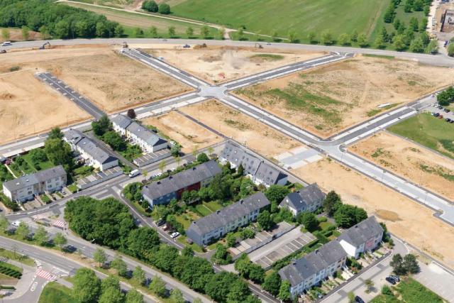 Pour 2015, 60 nouveaux logements seront disponibles à la location, au Domaine du Kiem (photo) au Kirchberg. (Photo: SNHBM)