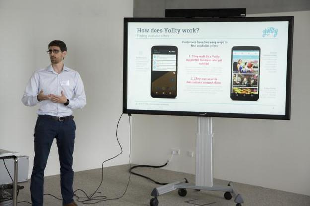 Pour Alexandros Trepeklis, cofondateur de la start-up, le Luxembourg a été d'un excellent soutien. (Photo: Deloitte)