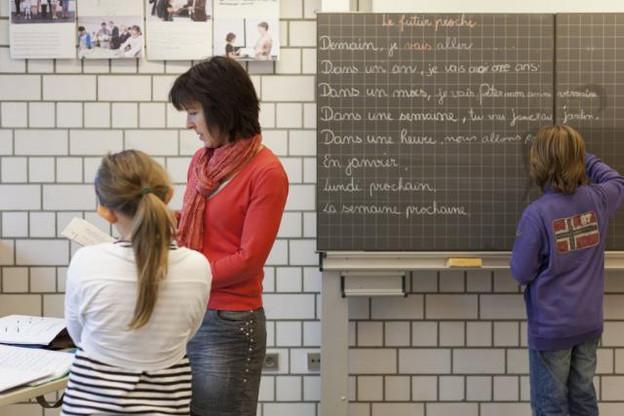 Face à une pénurie soutenue d'enseignants dans le fondamental, l'accès au concours sera légèrement facilité. ( Photo : Julien Becker / archives )