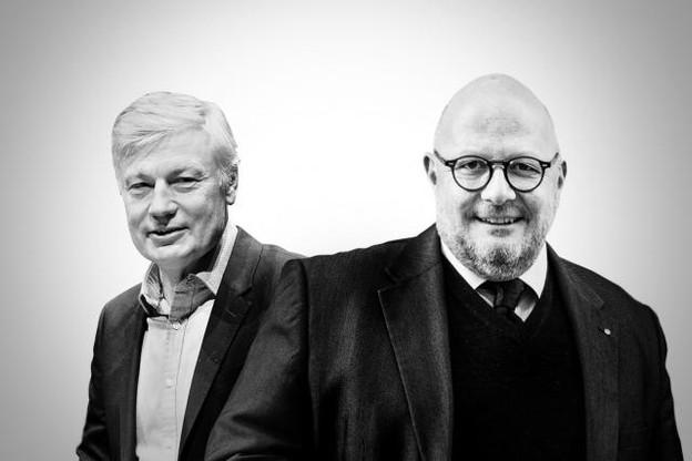 Claude Wiseler et Marc Angel sont en désaccord au sujet d'une présidence unique au sein de l'UE. (Illustration: Maison Moderne)