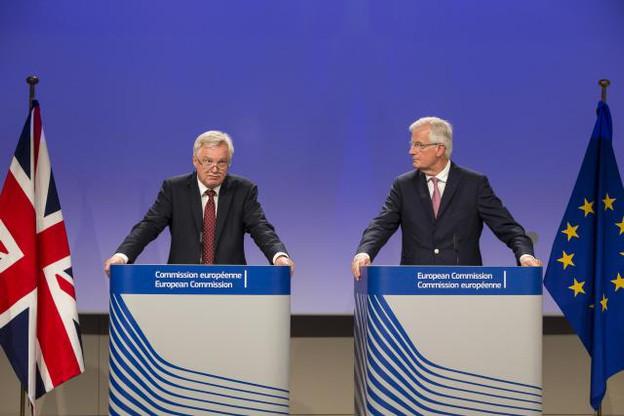 Pour la troisième fois depuis le déclenchement de l'article 50 du traité de Lisbonne, David Davis et Michel Barnier se retrouveront pour tenter d'avancer dans les négociations autour du Brexit. (Photo: Commission Européenne)