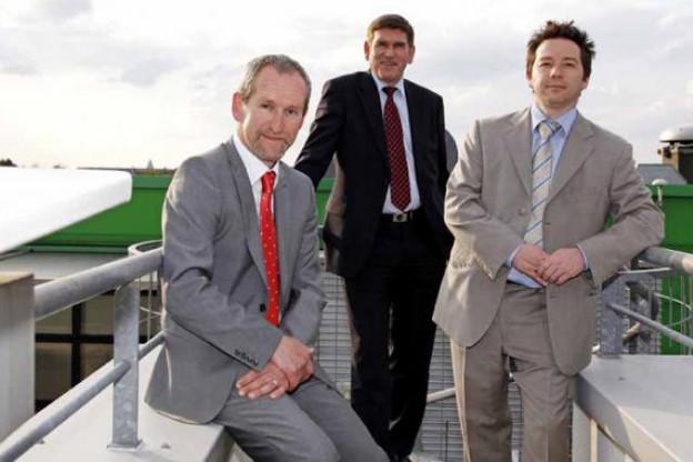 Pascal Lhoas (CRP Henri Tudor), Roland Weber (Intech) et Pierre Gillet (consultant indépendant) présenteront la méthode Hermes. (Photo: Olivier Minaire)
