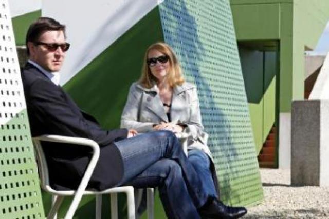 François Thiry et Carole Schmit (Polaris): «On prend le temps de bien faire les choses.» (Photo: Olivier Minaire)