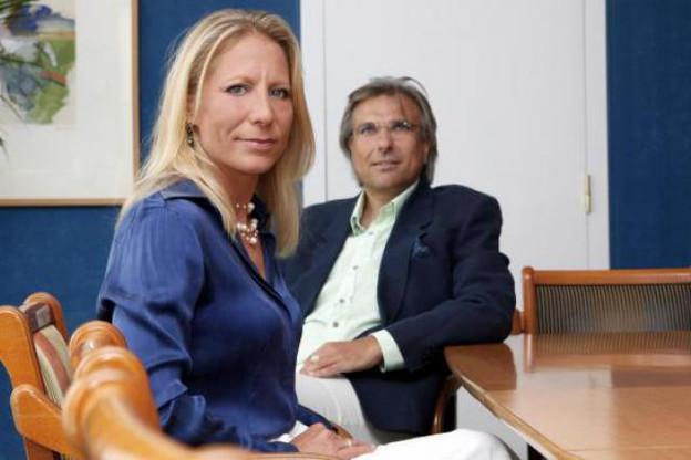 Christine Faucheur et Giorgios Bouronikos (People Primetime) ( Photo : Olivier Minaire )