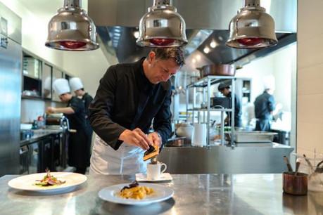 L'apparente simplicité de la cuisine de Roberto Fani cache des trésors de technique.  (Photo: archives Explorator)
