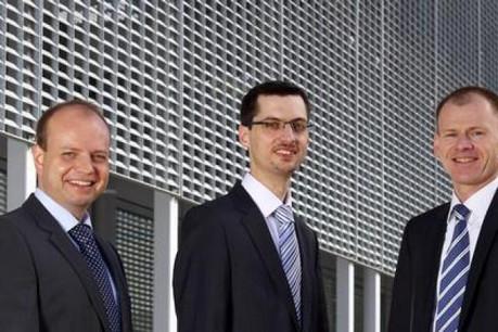 Cette entité a été reprise par son équipe dirigeante, composée de Dirk Fröhlich, Serge Nickels et Frank Leuschen. (Photo: Management Consultants Luxembourg)