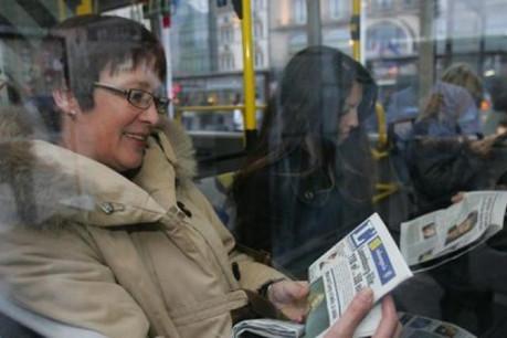 L'étude TNS-ILRES révèle que 27,1% des lecteurs de L'essentiel ne lisent aucun autre quotidien. (Photo:Luc Deflorenne)