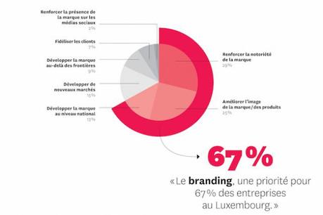L'étude Brand Duchy 2015, première du genre, révèle notamment sept objectifs à court terme pour les annonceurs. (Illustration : Maison Moderne Studio)