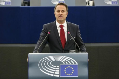 Xavier Bettel: «L'Europe ne se limite pas à son marché commun.» (Photo: Parlement européen)