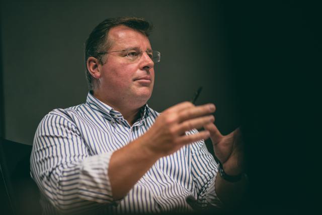 Bruno Renders, administrateur-délégué de Neobuild et de CDEC (Photo: Sven Becker)