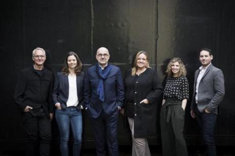 De gauche à droite: Ingbert Schilz, Lynn Ansay, Jim Clemes, Gaby Krump, Caroline Thill et Mathieu Nicol. (Photo: Jim Clemes Associates)