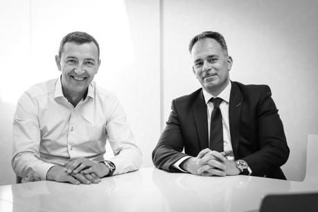 Alain Ierace et Dan Dechmann confirment leur association avec la nouvelle identité de l'agence. (Photo: Ierace Dechmann & Partners)