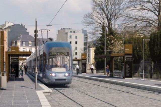 Dans le projet du tram, la Chambre des métiers voit d'abord «un gouffre financier national à long terme». (Photo: Luxtram)