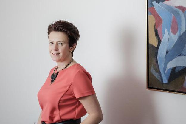 Nathalie Thunus: «Le fait d'avoir ses bureaux chez son expert-comptable est un sacré avantage.» (Photo: Julien Becker)