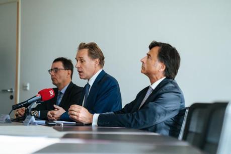 Le triumvirat des deux prochaines années, composé de François Kremer, François Prum et Rosario Grasso, s'attache à défendre une profession qui compte 2.400 membres. (Photo: Sven Becker)