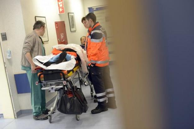 Les urgences du CHL ont connu un mois de janvier très chargé entre l'épidémie de grippe et les accidents de traumatologie imputables aux mauvaises conditions météorologiques. (Photo: Christophe Olinger / archives)