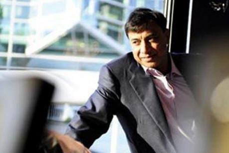 Lakshmi Mittal: «Le groupe est sorti plus fort des difficiles conditions financières que nous venons de vivre»  (Photo: David Laurent/Wide/archives)