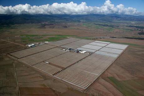 La centrale héliothermique Andasol, dans le sud de l'Espagne, a été le premier projet financé par les obligations vertes de la BEI. (Photo: BSMPS)