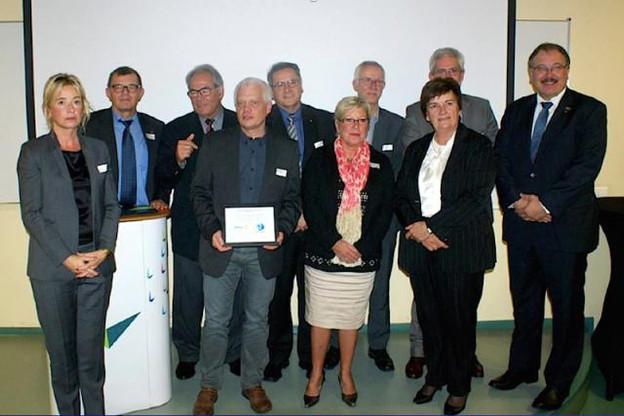 Qui succédera à Pierre-Yves Franck (Opal Systems), lauréat en 2014?   (Photo: Rotary)