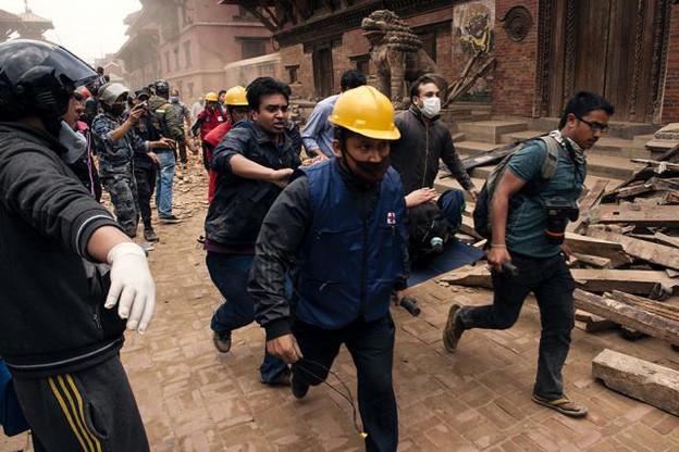Drames humanitaires, les tremblements de terre ont poussé le Népal à solliciter l'aide internationale. Le Luxembourg interviendra notamment dans le domaine de la connectivité.  (Photo: Croix Rouge)