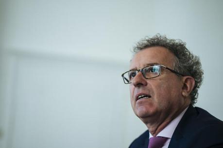 Pierre Gramegna s'entretiendra vendredi après-midi avec les députés de la commission des finances au sujet de la vente annoncée de la Bil dans la presse. (Photo: Sven Becker / Archives)