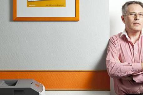 Claude Crovisier, administrateur d'iTEC, connaît un succès jamais interrompu dans le domaine particulier du printing. (Photo: Julien Becker)