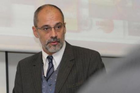 Thierry Fromes (Microsoft Luxembourg): «Il nous faut apprendre à apprendre et à réapprendre.» (Photo : Luc Deflorenne/archives)